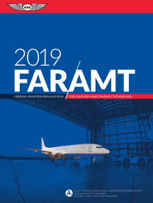 FAR-AMT 2019: Federal Aviation Regulations for Aviation Maintenance Technicians