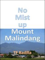 No Mist up Mount Malindang