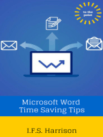Microsoft Word Time Saving Tips