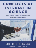 Conflicts of Interest In Science
