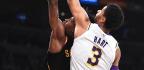 Lowly Cavaliers Get The Best Of James-less Lakers