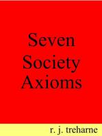 Seven Society Axioms