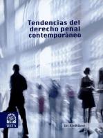 Tendencias del derecho penal contemporáneo