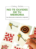No te olvides de tu memoria: Las claves para conservarla y mejorarla