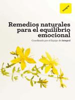 Remedios naturales para el equilibrio emocional