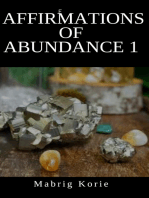 Affirmation of Abundance