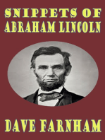 Snippets of Abraham Lincoln