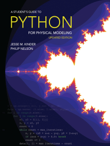 A Student's Guide to Python for Physical Modeling: Updated Edition