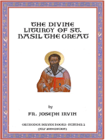 The Divine Liturgy of St. Basil the Great