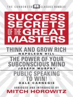 Success Secrets of the Great Masters (Condensed Classics)