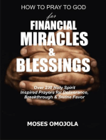 How To Pray To God For Financial Miracles And Blessings