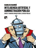 Inteligencia artificial y Administración pública: Robots y humanos compartiendo el servicio público