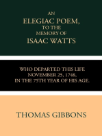 An Elegiac Poem to the Memory of the Rev. Isaac Watts