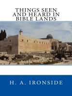 Things Seen and Heard in Bible Lands