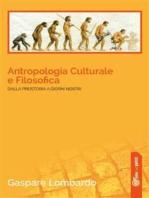 Antropologia Culturale e Filosofica