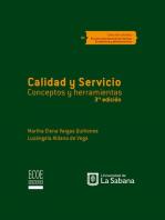 Calidad y servicio: Conceptos y herramientas