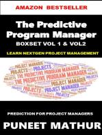 The Predictive Program Manager Boxset Vol 1 Vol 2