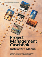 Project Management Casebook