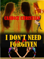 I Don't Need to be Forgiven