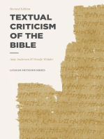 Textual Criticism of the Bible
