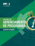 The Standard for Program Management - Fourth Edition (BRAZILIAN PORTUGUESE)