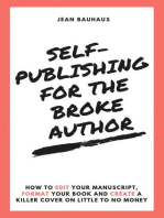 Self-Publishing for the Broke Author
