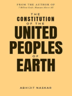 The Constitution of The United Peoples of Earth