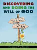 Discovering and Doing the Will of God