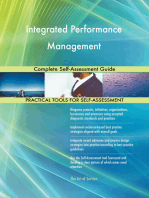Integrated Performance Management Complete Self-Assessment Guide