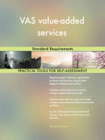 VAS value-added services Standard Requirements