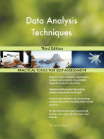 Data Analysis Techniques Third Edition