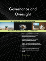 Governance and Oversight A Clear and Concise Reference
