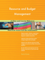 Resource and Budget Management A Clear and Concise Reference