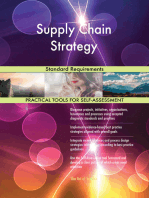 Supply Chain Strategy Standard Requirements