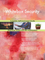 Whitebox Security Complete Self-Assessment Guide