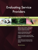 Evaluating Service Providers The Ultimate Step-By-Step Guide
