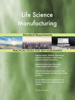 Life Science Manufacturing Standard Requirements