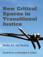 New Critical Spaces in Transitional Justice: Gender, Art, and Memory