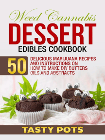 Weed Cannabis Dessert Edibles Cookbook