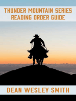 The Thunder Mountain Series Reading Order Guide