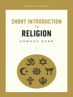 A Pocket Essential Short Introduction to Religion