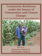 Community Resilience under the Impact of Urbanisation and Climate Change: Cases and Experiences from Zimbabwe