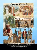 Compendio de Historia Universal (I) De los orígenes de la humanidad al cristianismo y el islam