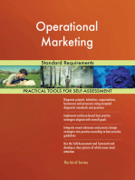 Operational Marketing Standard Requirements