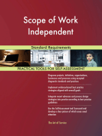 Scope of Work Independent Standard Requirements