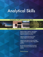 Analytical Skills Complete Self-Assessment Guide