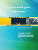 Software development Organization A Clear and Concise Reference