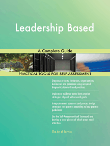 Leadership Based A Complete Guide