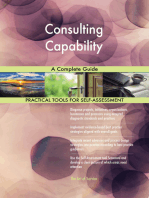 Consulting Capability A Complete Guide