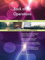 Back office Operations Third Edition